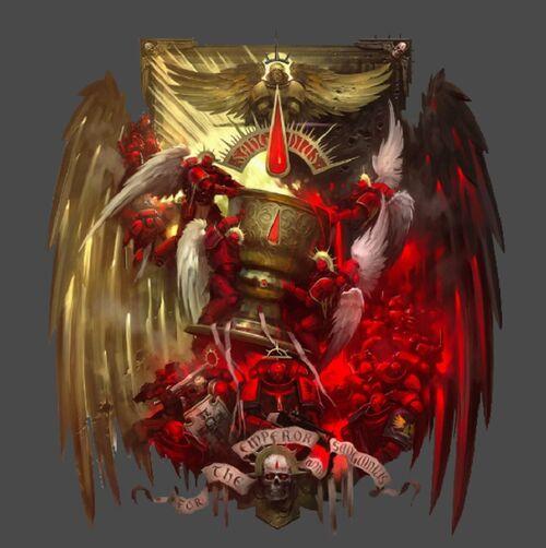 B Forge World-Horus Hérésie Blood Angels-les anges larmes épaulière